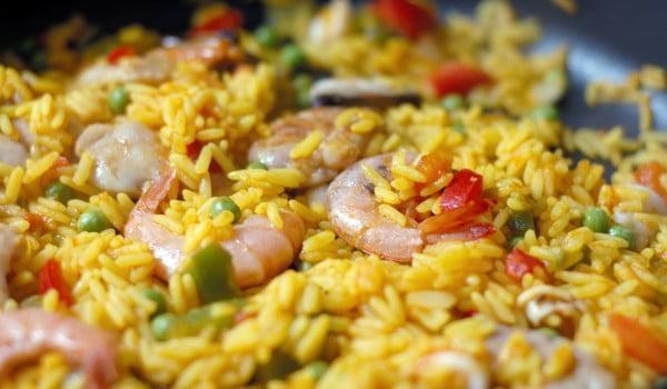 ориз по китайски - жълът