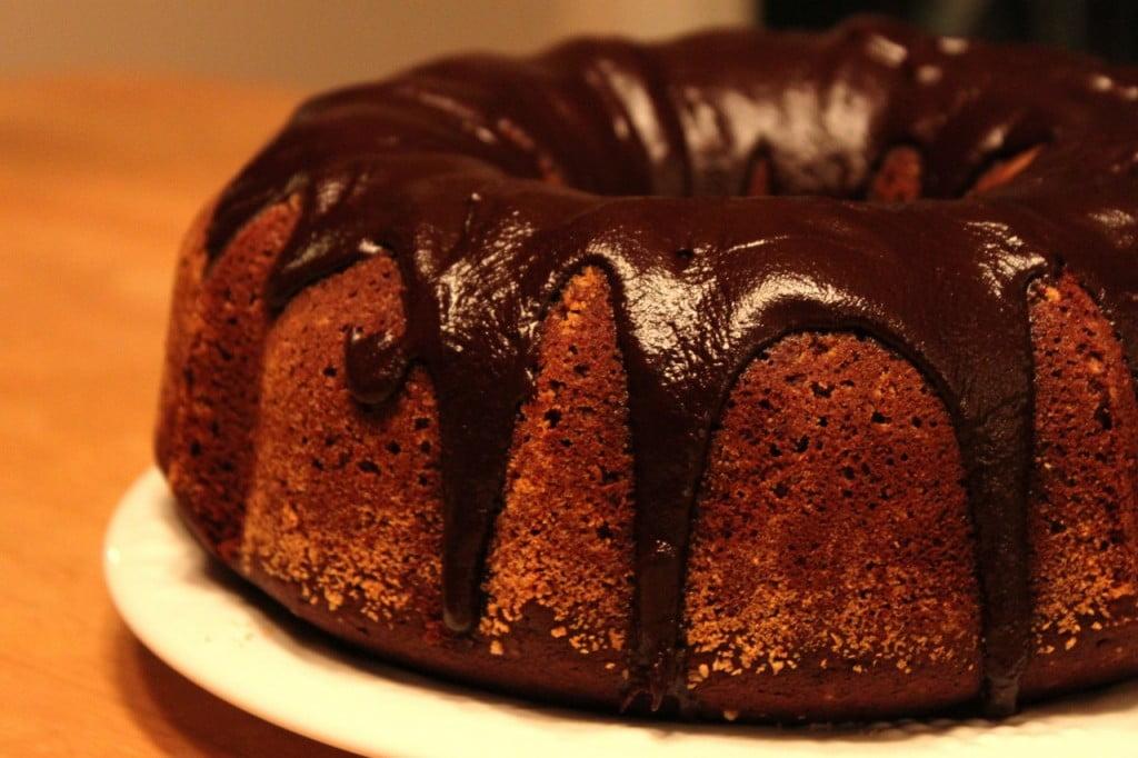 Тиквен кейк с шоколадова заливка